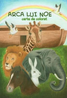 Arca lui Noe: carte de colorat