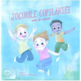 Jocurile copilariei (carte de colorat)