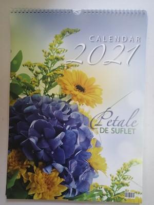 Calendar 2021 Petale de suflet A3