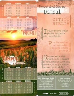 Calendar 2021 Semn de carte