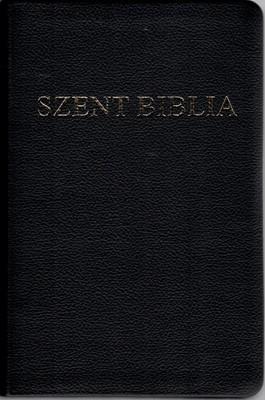 Szent Biblia, aurită, coperți din piele, hărți
