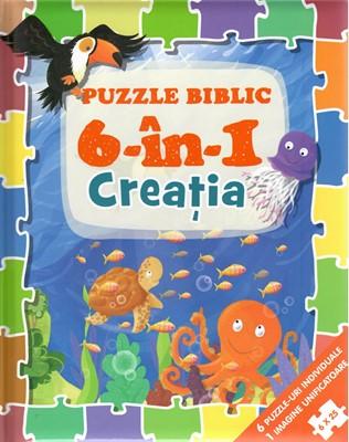 Puzzle biblic 6-in-1 Creația