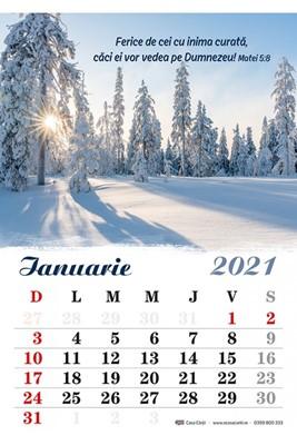 Calendar A4 2021 peisaje
