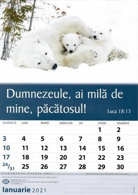 Calendar A4 2021 cu imagini