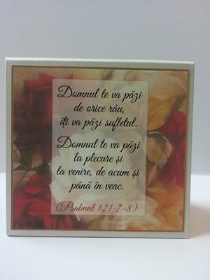 Placheta Domnul te va pazi