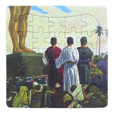 Puzzle biblic - cei trei tineri