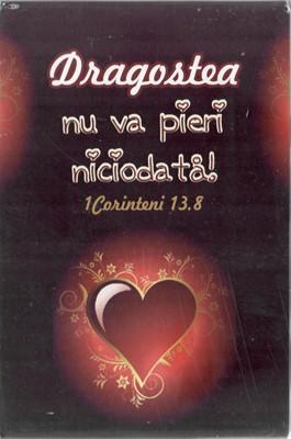 Tablou birou 1 Corinteni 13:8