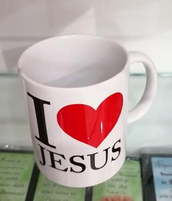 Cană I love Jesus