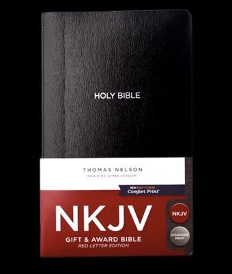 Bible NKJV Gift & Award Black