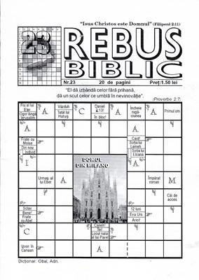 Rebus Biblic, nr 23