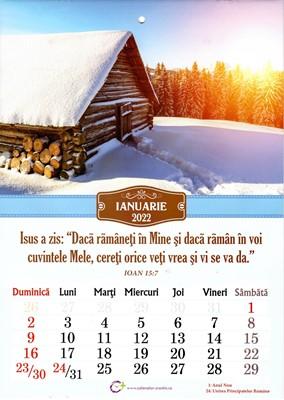 Calendar A4 2022 - peisaje