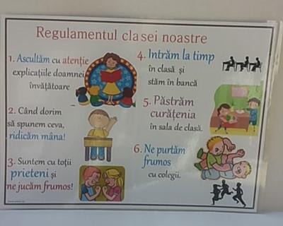 Regulamentul clasei noastre pt. scoala