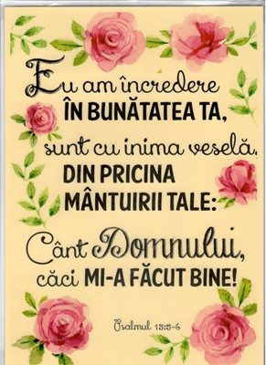 Poster A4 - Eu am încredere...