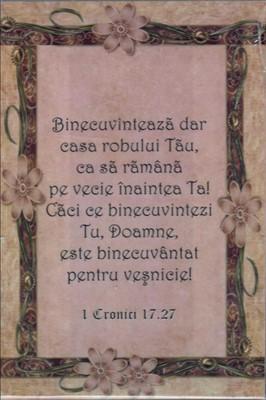 Tablou birou 1 Cronici 17:27