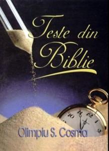 Teste din Biblie