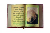 Carte decorativă mare. Plangerile lui Ieremia 3:22, 23, 24