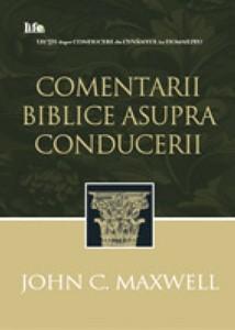 Comentarii biblice asupra conducerii