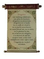 Pergament cu rulaj ascuns - I Corinteni 13:4-8