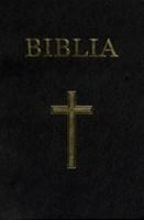 Biblia format mediu, vinilin, neagră