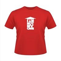 I am not my own - tricou roşu M