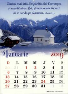 Calendar 2019 - Format A4