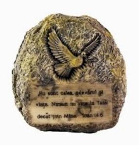 Ornament răşină piatră,  Ioan 14:6