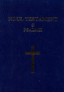 Noul Testament şi Psalmii - format mic, cuv D-lui Isus în roşu, scris mare