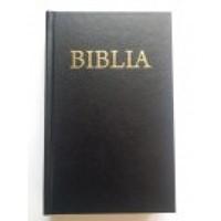 Biblia - format mic, coperta carton, cuv. D-lui Isus în roşu