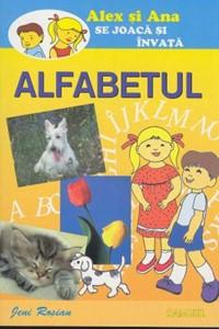 Alex şi Ana se joacă şi învaţă. ALFABETUL (SC)