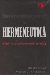 Introducere in hermeneutică. În căutarea înţelesului (HB)