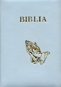 Biblia - format mediu, piele şi fermoar (LE)