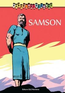 Carte de colorat. Samson