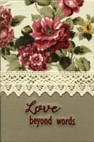 Biblia handmade - model floral, margini aurii