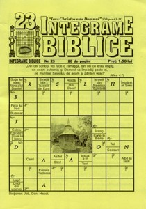 Integrame biblice, nr. 23
