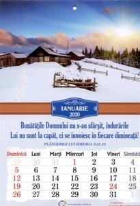 Calendar A4: 2020, peisaje