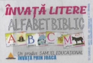 Învață litere - Alfabet biblic