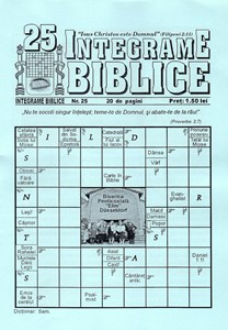 Integrame biblice, nr. 25