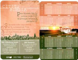 Calendar 2021 de portofel