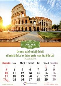 Calendar A4 2021 monumente