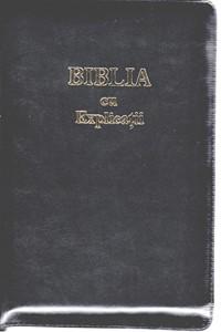 Biblia cu Explicații și Concordanță