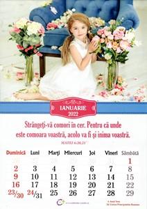Calendar A4 2022 - copii