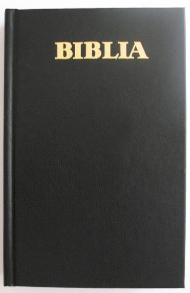 Biblia - format foarte mare, coperta simpla, Cuvintele Domnului Isus în Roşu,