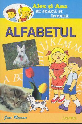 Alex şi Ana se joacă şi învaţă. ALFABETUL