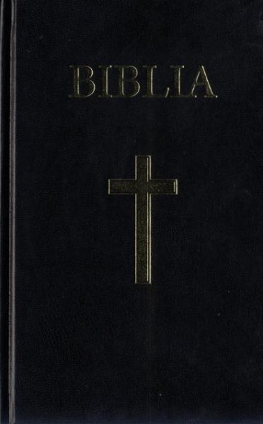 Biblia  medie 2, coperta carton, cu cruce