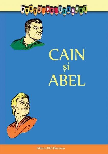 Carte de colorat. Cain si Abel