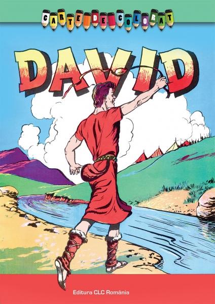 Carte de colorat. David