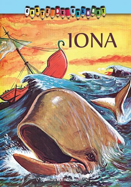 Carte de colorat. Iona