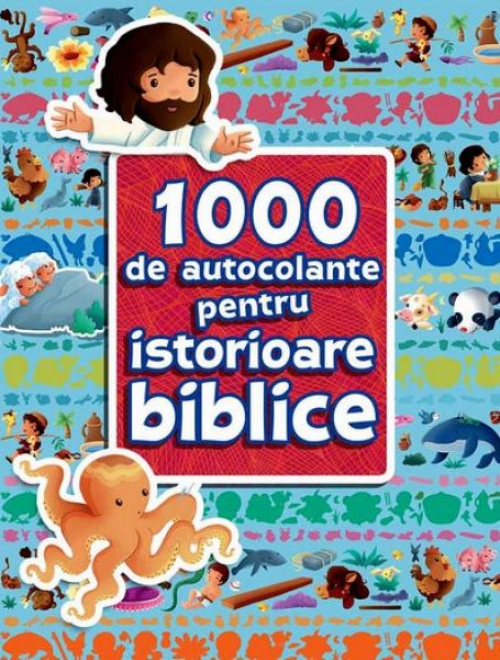 1000 de autocolante pentru istorioare biblice