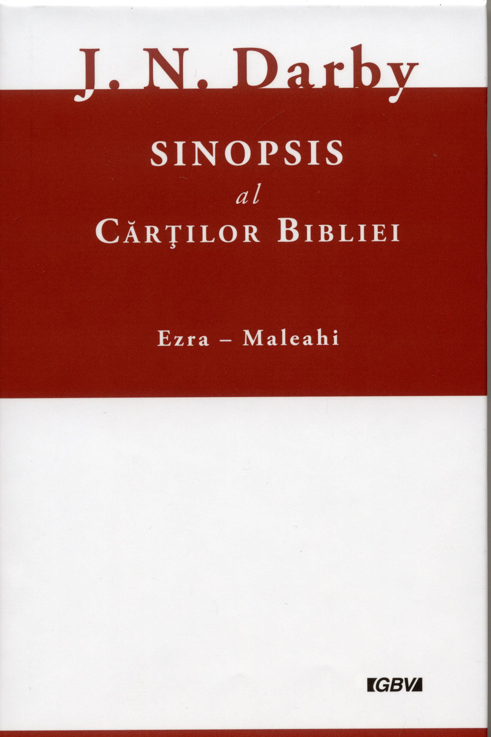 Sinopsis al cărţilor Bibliei vol.2