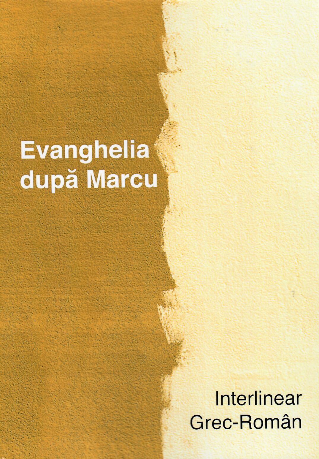 Evanghelia dupa Marcu interlinear